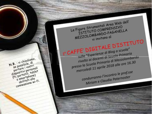 caffè digitale 11 04 2018